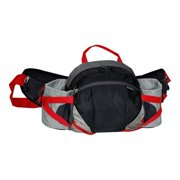 Everest Unisex Outdoor Waist Pack with Bottle Holders