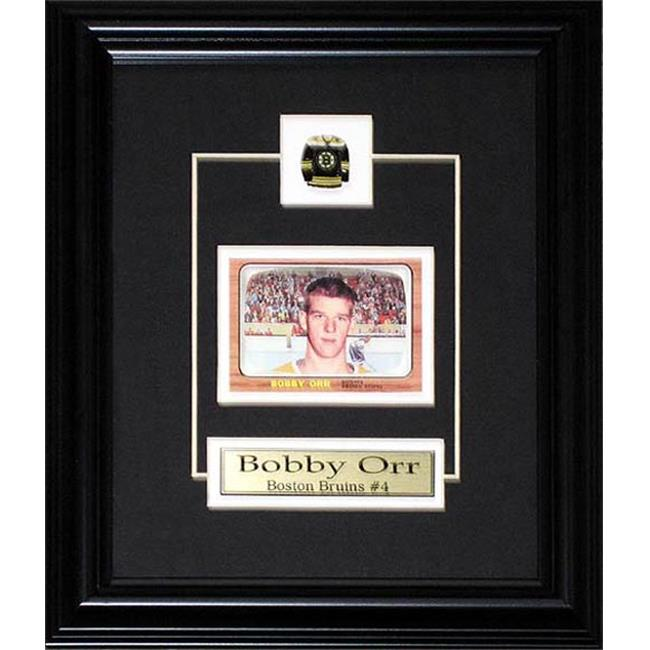 Midway Memorabilia Bobby Orr Boston Bruins Replica Rookie Card Frame