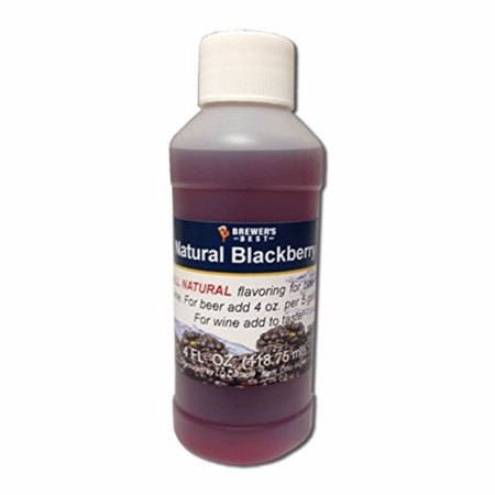 - 3702 Natural Beer and Wine Fruit Flavoring (Blackberry), 4 fl. oz., Natural blackberry flavoring By Brewer's Best Ship from US