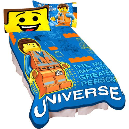 LEGO The Movie Plush Twin Blanket - Walmart.com