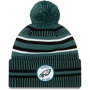 Philadelphia Eagles New Era Youth 2019 NFL Sideline Home Sport Knit Hat - Green/Black - OSFA