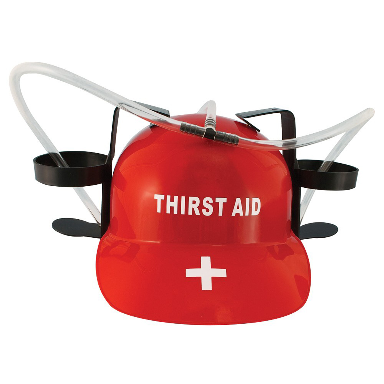 Thirst Aid Beer Drinking Hard Hat