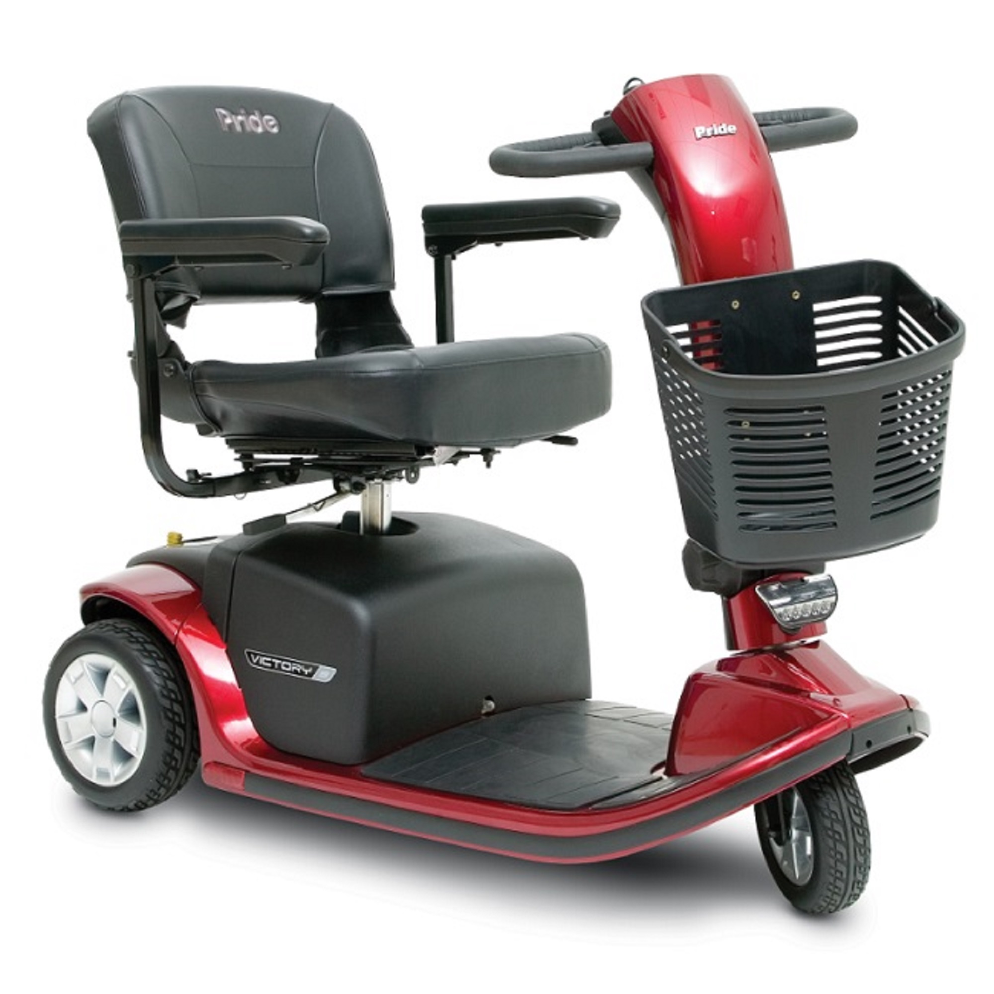 Pride Mobility Victory 9 - Mid-Sized Scooter - 3-Wheel - ...