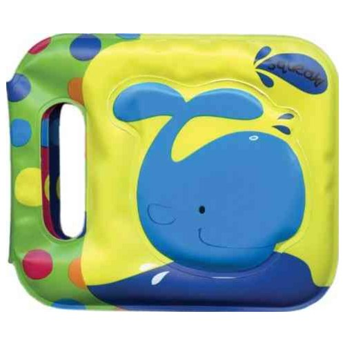 Whale: Bath Book With Squeaker