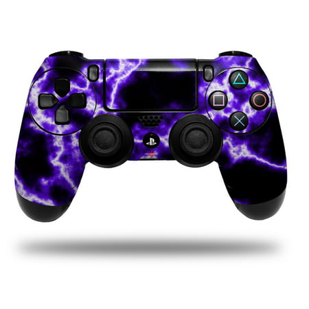 Skin Wrap for Sony PS4 Dualshock Controller Electrify Purple (CONTROLLER NOT