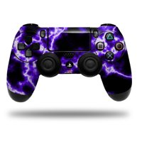 Skin Wrap for Sony PS4 Dualshock Controller Electrify Purple (CONTROLLER NOT INCLUDED)
