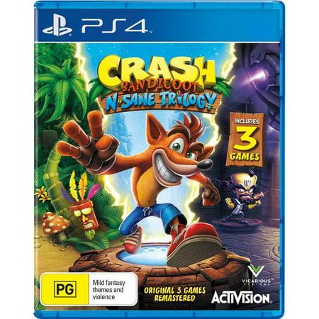 Crash N Sane Trilogy Sock Bundle   Playstation 4