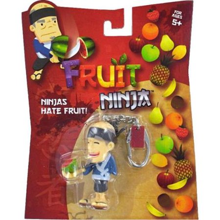 Fruit Ninja Blade Slice Watermelon Sensei Keychain (Slice The Fruit)