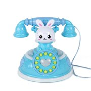 Kids Telephone Toy Smart Phone With Light Music Pretend Play Toys Child Baby Education Birthday Gift