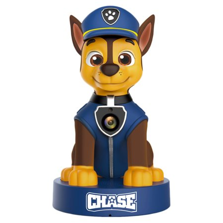 PAW Patrol Chase 1080p HD Wifi Security Camera Monitor with Two-Way Audio and Night Vision