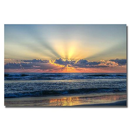 Radiant Dawn by Chuck Burdick Premium Gallery-Wrapped Canvas Giclee Art - 16 x 24 x 1.5 in. - image 1 of 1