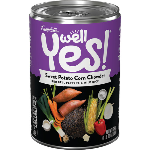 Campbell's Well Yes!Sweet Potato Corn Chowder, 16.3 oz.
