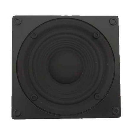 Sub-Woofer Speaker Novelty Belt Buckle