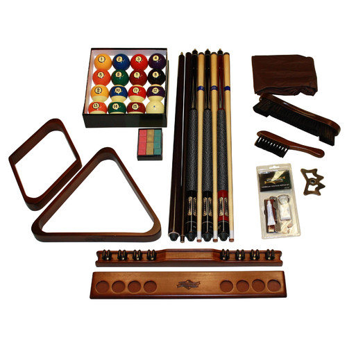 American Heritage Designer Billiard Accessory Kit