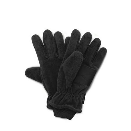 Hybrid Fleece Glove - QuietWear Waterproof Fleece Glove with Cuff, 40 Gr Thinsulate