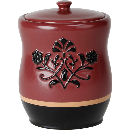Better Homes and Gardens Scroll Cotton Jar