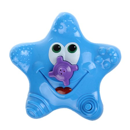 Baby Bath Water Squirter Splash Spray Starfish Rotate Infant Interactive Education Bathroom Bathing Toy - image 1 de 1