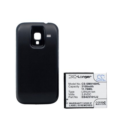 Cameron Sino 1200mAh / 4.4Wh Battery Compatible With Samsung Galaxy Ace 2, GT-I8160, GT-I8160P, GT-S7562, Galaxy S Duos, GT-S7572,  and