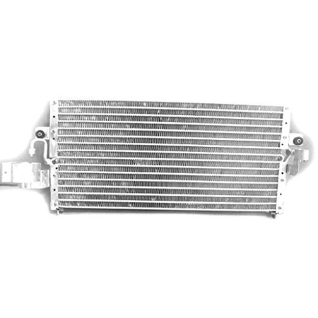 A-C Condenser - Pacific Best Inc For/Fit 4322 91-93 Nissan Sentra NX Coupe With Male Block