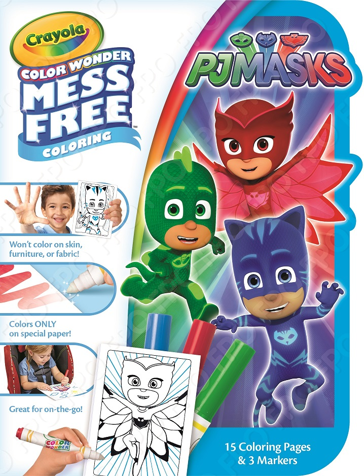 Crayola Color Wonder On The Go Coloring KitPJ Masks by Crayola