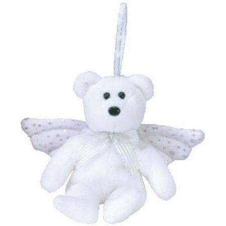 TY Jingle Beanie Baby - HERALD the Angel Bear (5 inch) - Walmart.com dabc5926734