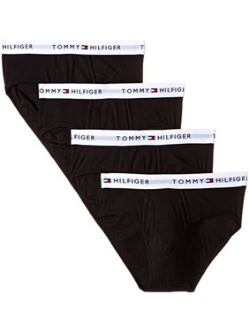Tommy Hilfiger 09TF001 Basic 100% Cotton Brief - 4 Pack
