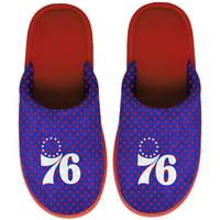 Philadelphia 76ers Women's Big Logo Scuff Slippers