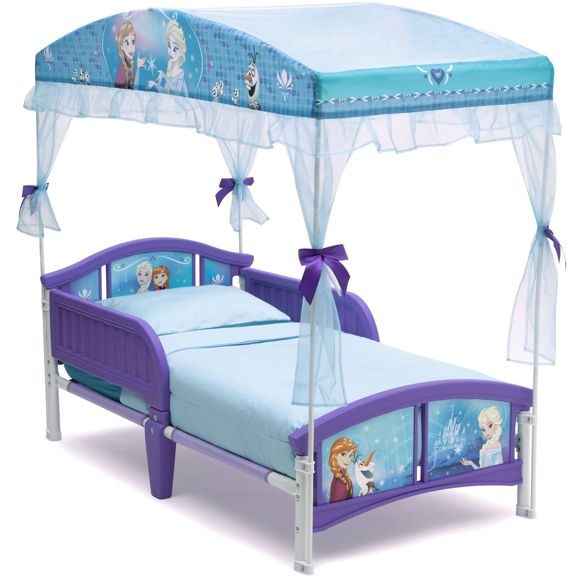 Kids bed tent canopy - Disney Or Nickelodeon Canopy Or Tent Toddler Bed With Mattress Walmart Com
