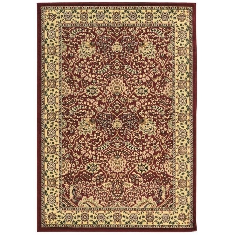 Hawthorne Collection 2' x 3' Rug in Red