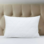A1 Home Hypoallergenic Quilted Snowflake Microfiber Pillow - Set of 2