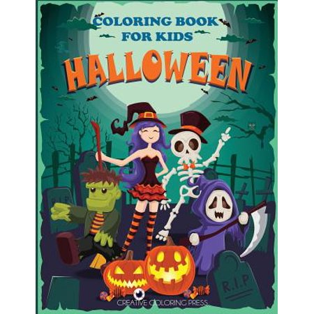 Halloween Coloring Book for Kids - Kid Friendly Halloween Coloring Pages