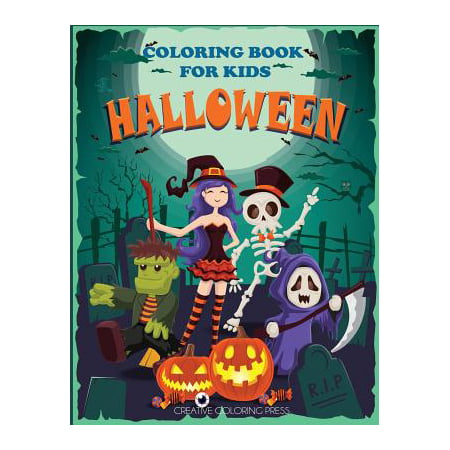 Halloween Coloring Book for Kids - Scary Halloween Coloring Pages