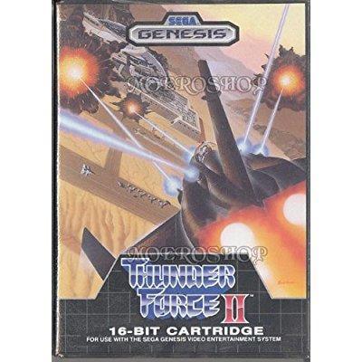Thunder Force II Sega Genesis by