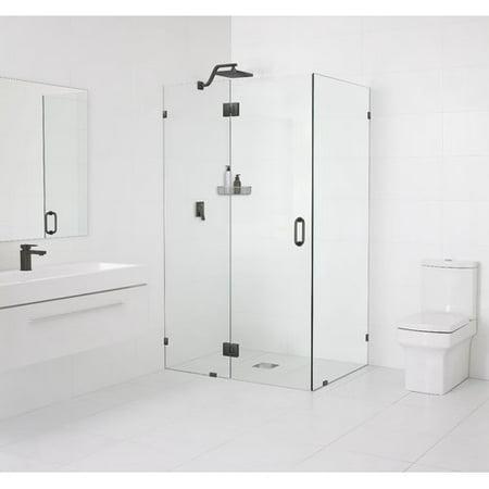 Glass Warehouse 48 X 78 Hinged Frameless Shower Door Walmart