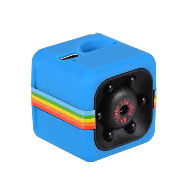 Mini Cube Camera 1080P HD IR Night Vision 120° Wide Angle 32GB Extended Memory