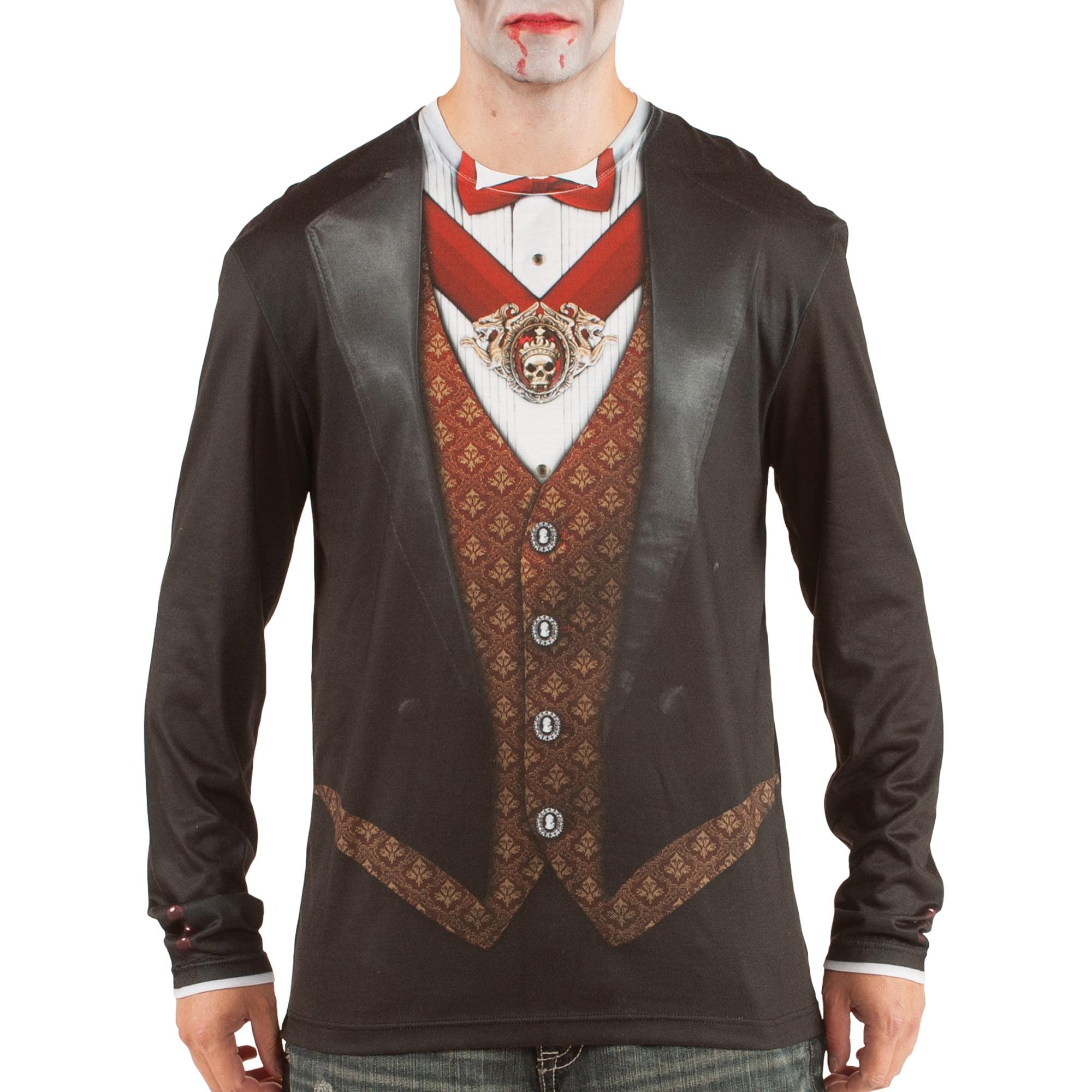 Vampire Men's Long Sleeve Tee Shirt