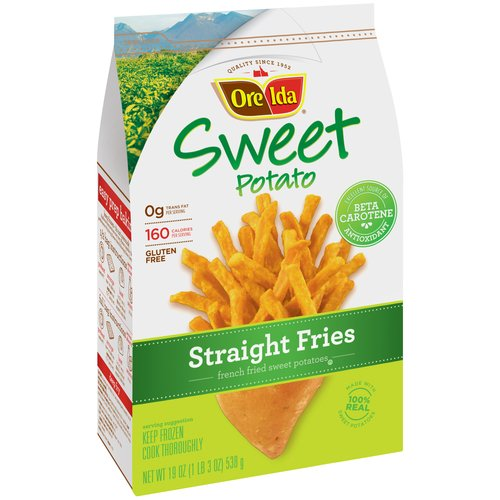Ore-Ida Sweet Potato Straight Fries, 19 oz