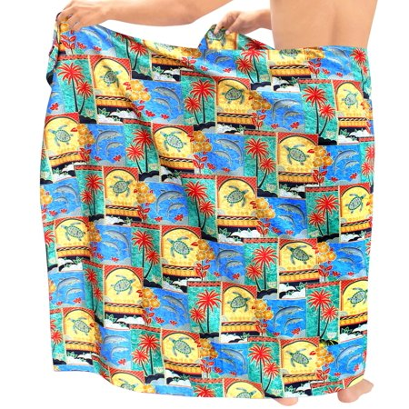 Bathing Suit Swimwear Cover ups Beachwear Wrap Mens Sarong Swimsuit Pareo Swim