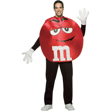 Red M&M Adult Halloween Costume