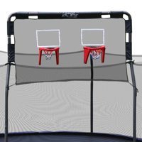 Skywalker Trampolines Double Basketball Hoop for 15-Foot Trampolines