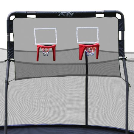 Skywalker Trampolines Double Basketball Hoop for 15-Foot (Best Trampoline Basketball Hoop)
