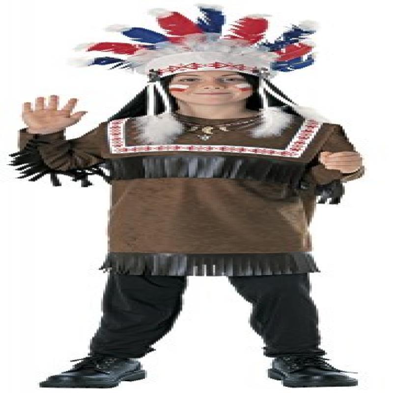 Rubie's Cherokee Warrior Child Costume, Medium