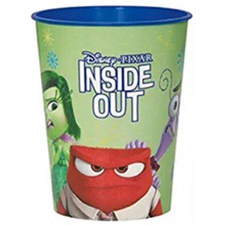 Inside Out Green Plastic 16 Ounce Reusable Keepsake Favor Cup (1 Cup)](Rapunzel Cut Out)