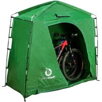 """The YardStash IV: Heavy Duty, Space Saving Outdoor Storage Shed Tent - 74"""" Wide x 32"""" Deep x 68"""" High"""