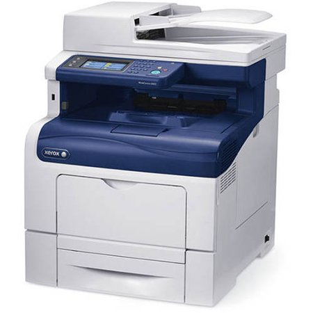 Xerox WorkCentre 6605N Color Laser Multifunction Printer/Copier/Scanner/Fax Machine