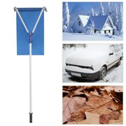 UBesGoo Roof Rake Snow Removal Tool Light weight Extendable for Clearing Snow on Rooftop