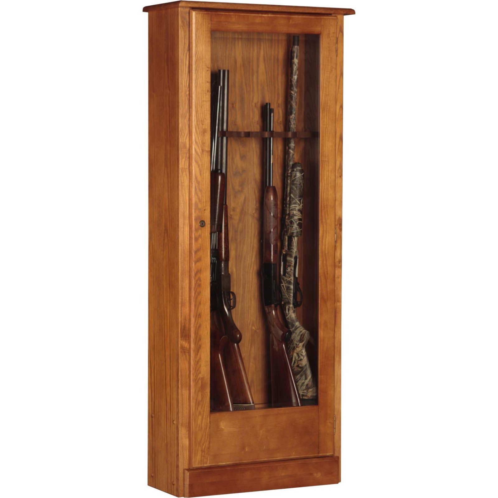 American Furniture Classics 724-10 Gun Wood Cabinet
