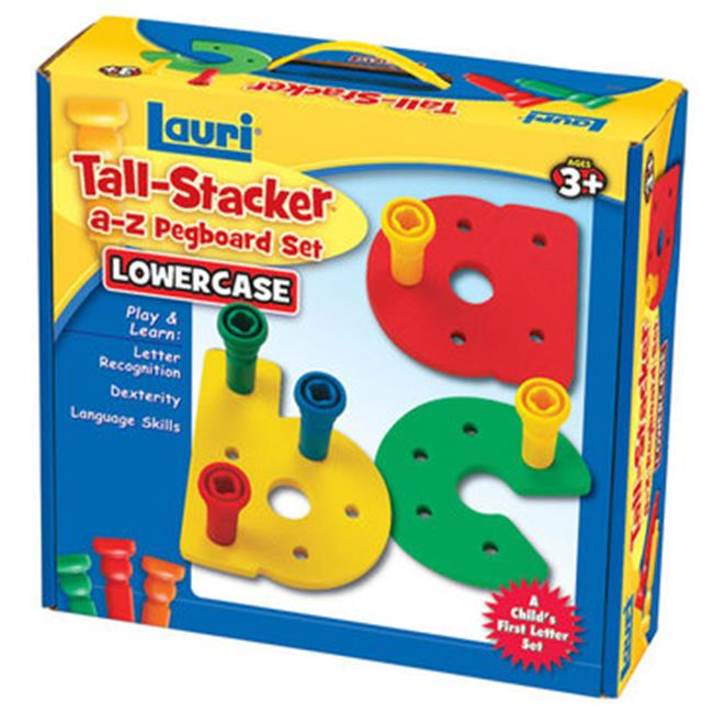 Patch Products 2321 Tall-Stacker a-z Pegboard Set - Lowercase