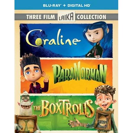 Film Completo Halloween 3 (Three Film Laika Collection (Coraline / ParaNorman / The Boxtrolls) (Blu-ray + Digital)