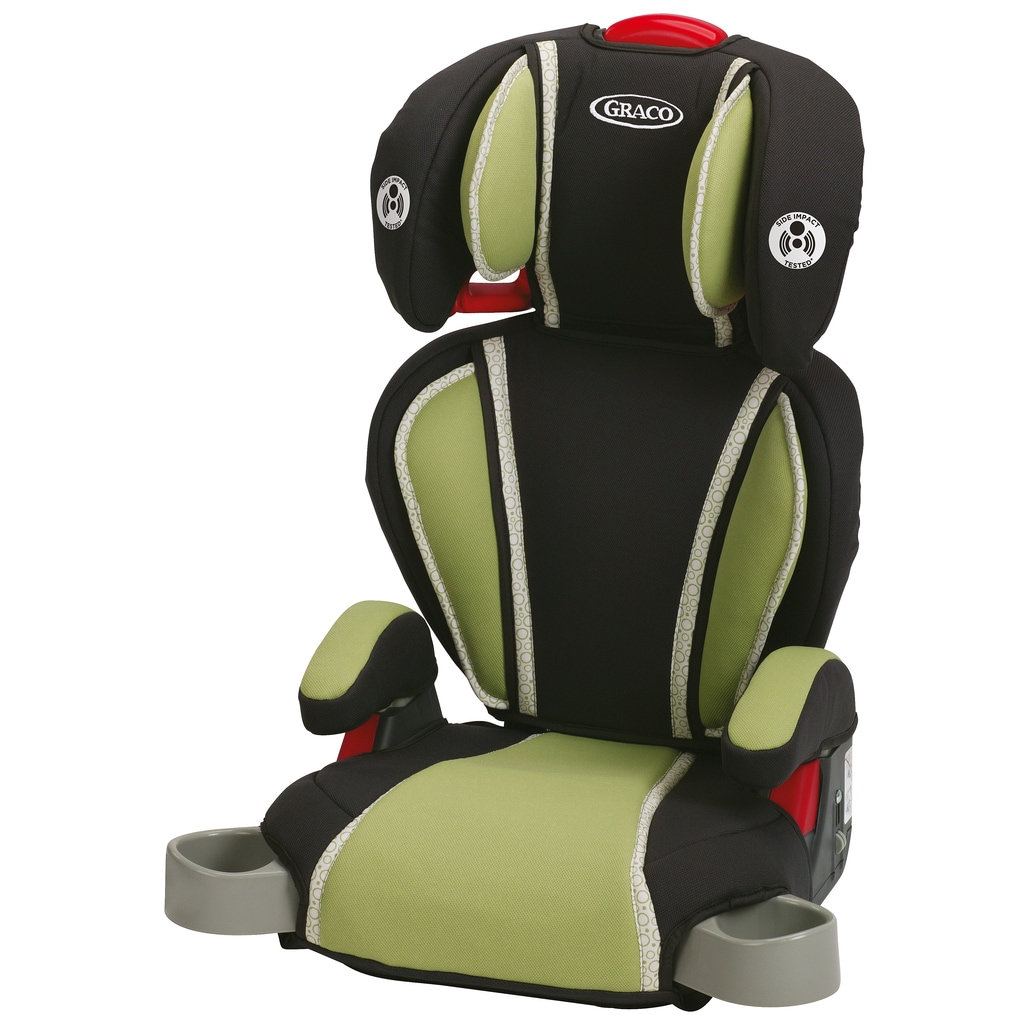 Graco Highback Turbo Booster Car Seat - Go Green